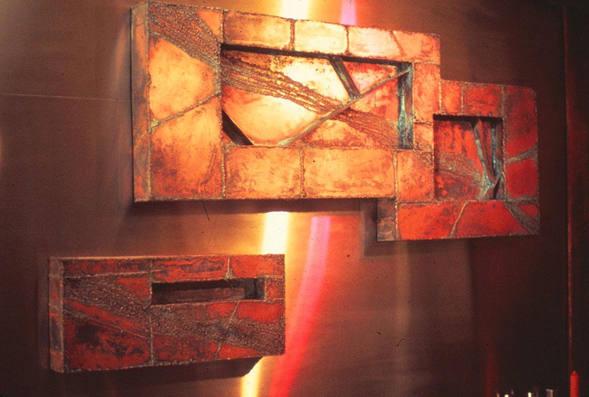 Copper Wall Piece