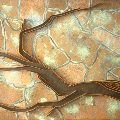 Grape Vine, wall panel
